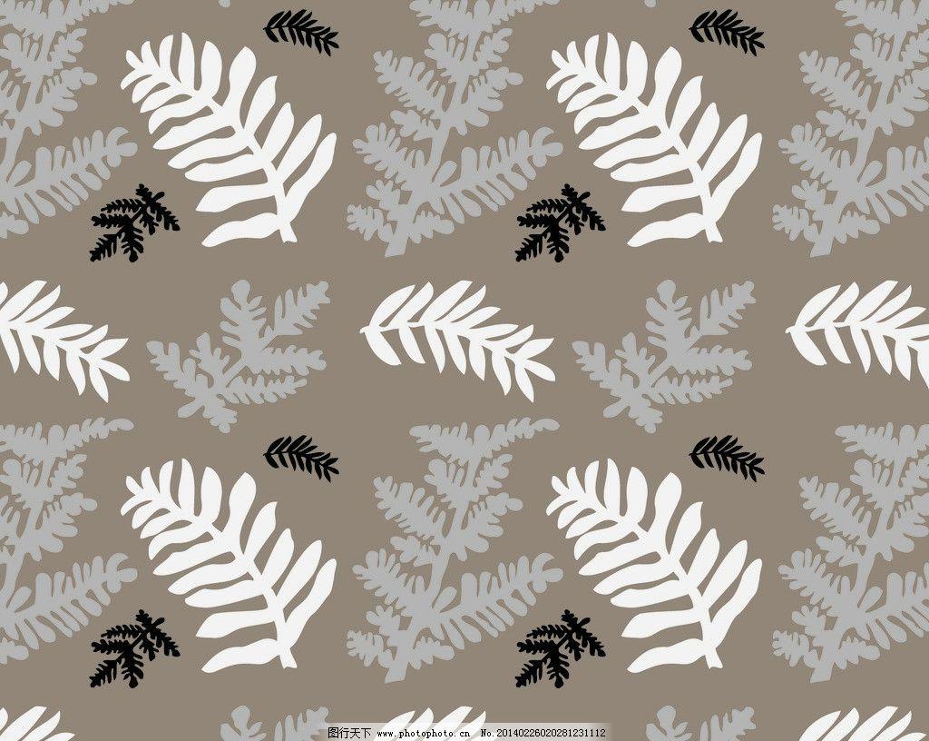 叶子背景 树叶 杉木树叶 底纹 黑白灰 背景底纹 底纹边框