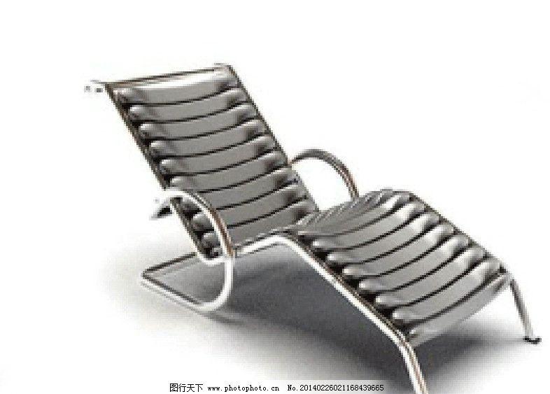 躺椅 椅子 椅子模型 室内模型 室内设计 室内设计模板 evermotion