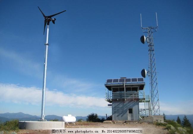 风力发电机基站 风光路灯
