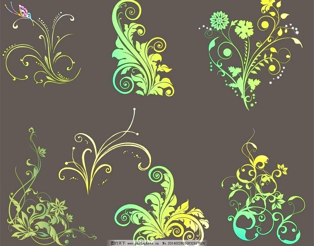 cdr 背景图 底纹 底纹边框 古典 古典花纹 花朵 花纹花边 欧式花纹