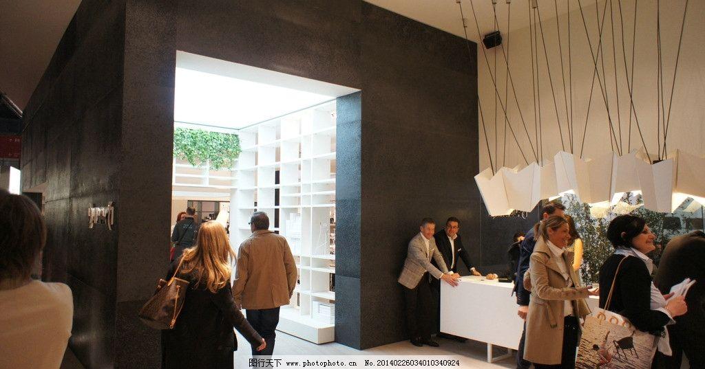 外国展会 米兰家具展 室内设计 家具摄影 装饰品 时尚家具 地柜 外观