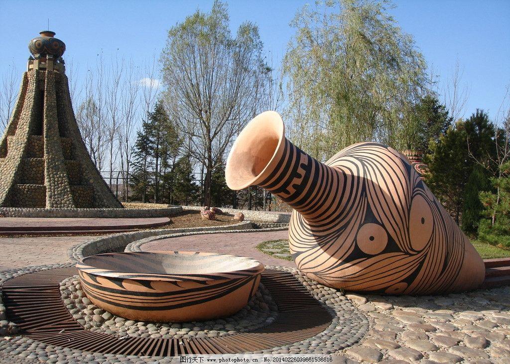 花瓶雕塑 雕塑 花瓶 器皿 创意雕塑 创意景观 大型雕塑 建筑园林 摄影
