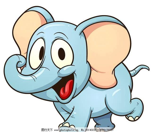 卡通小象 小象 大象 卡通 卡通设计 卡通背景 卡通人物 卡通角色 动画