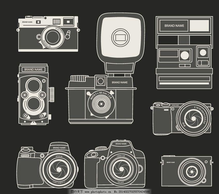 相机 数码 数码相机 图标 照相机 摄像 科技 手绘 相机图标 相机设备