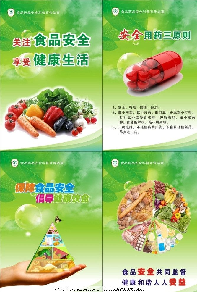 食品安全展板 食品 药品 安全 食品药品安全展板 源文件 海报设计