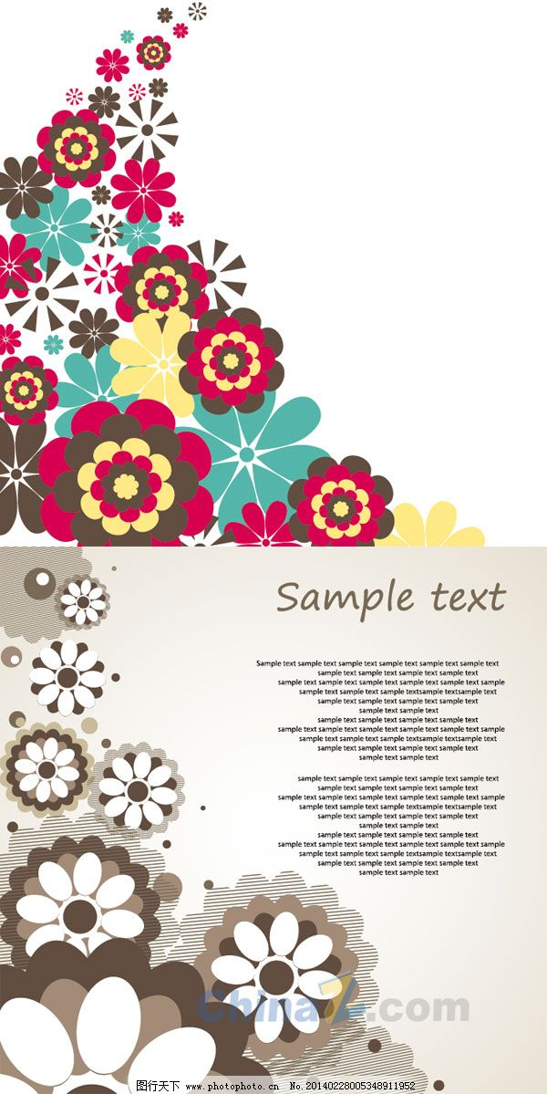 鲜花背景免费下载 创意 美丽 鲜花 鲜花 美丽 创意 矢量图 广告设计