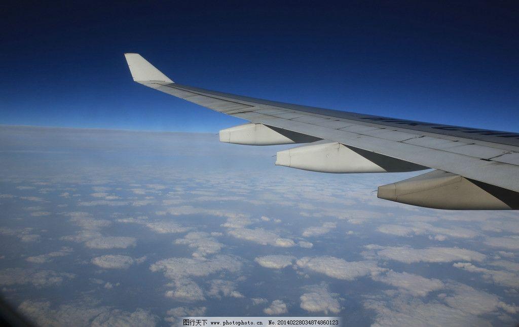 飞机上拍摄的云海图片