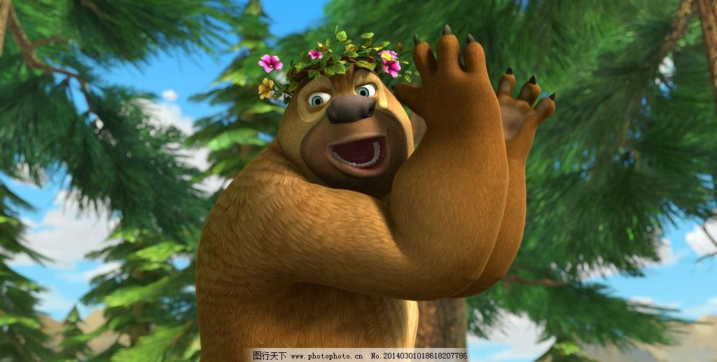 熊出没图片