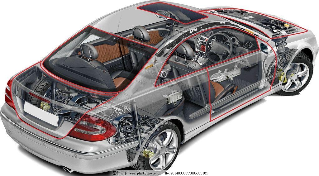 汽车透视图 3d作品 3d设计 设计 金属喷漆 防爆防滑耐磨轮胎 高档机械