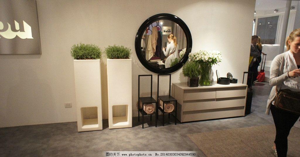 国外展会 米兰家具展 室内设计 家具摄影 装饰品 时尚家具 地柜 国外