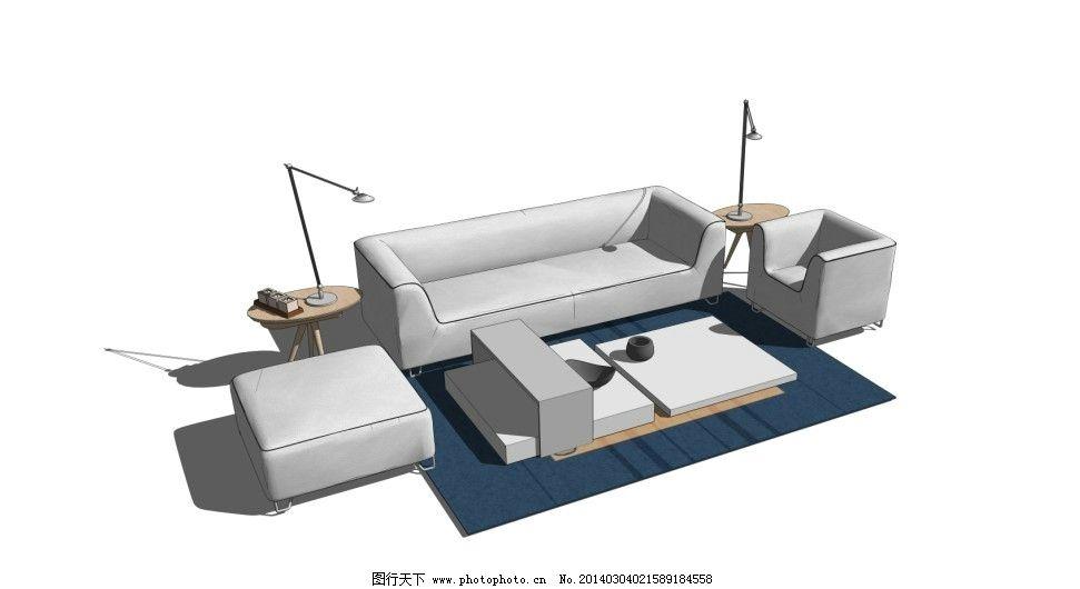 沙发 室内场景设计 展会效果图设计 室内小品 室内设计 环境设计