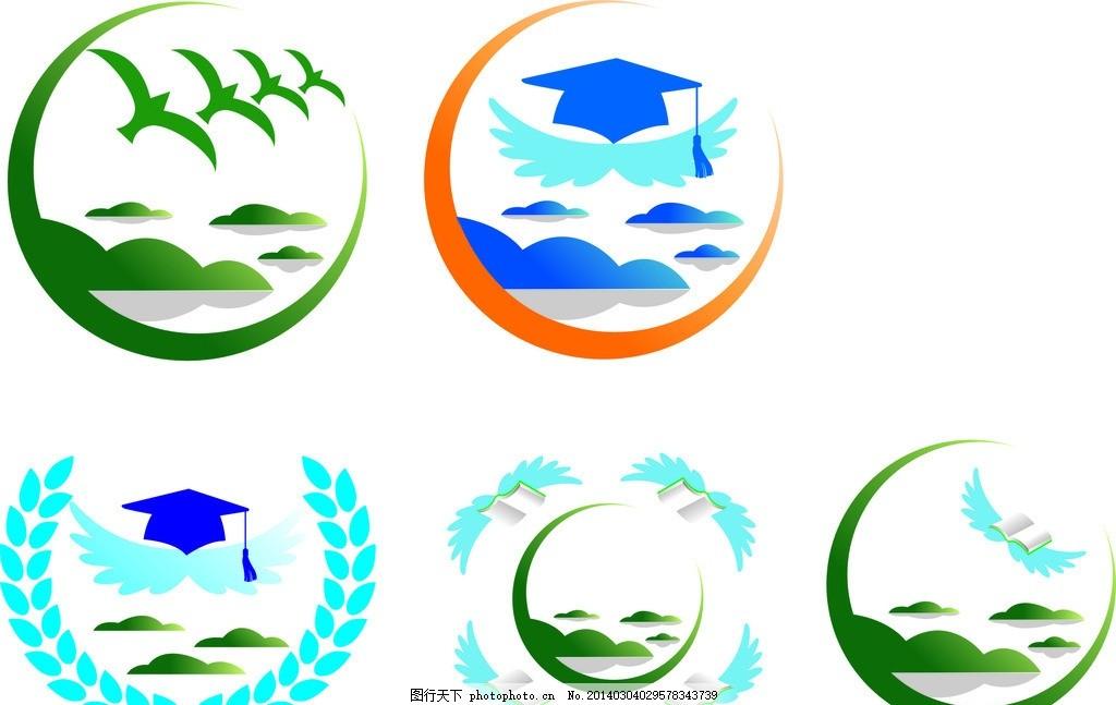 千岛湖      书籍 翅膀 博士 鸟 山水 山水logo 广告设计 矢量 cdr