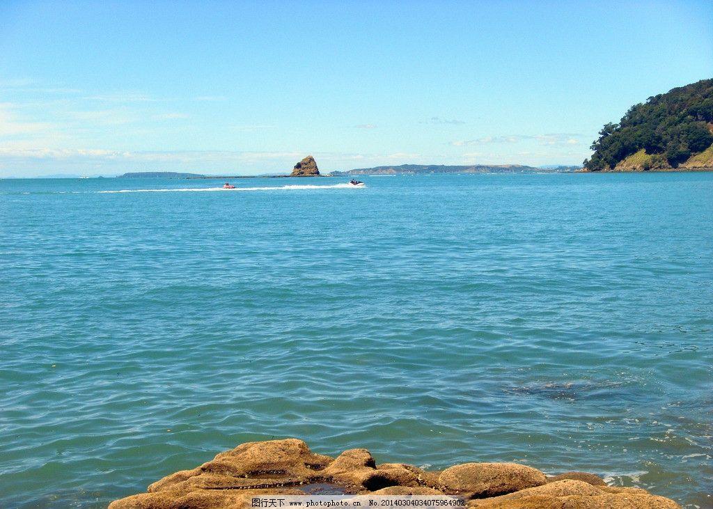 新西兰布丁岛风景图片