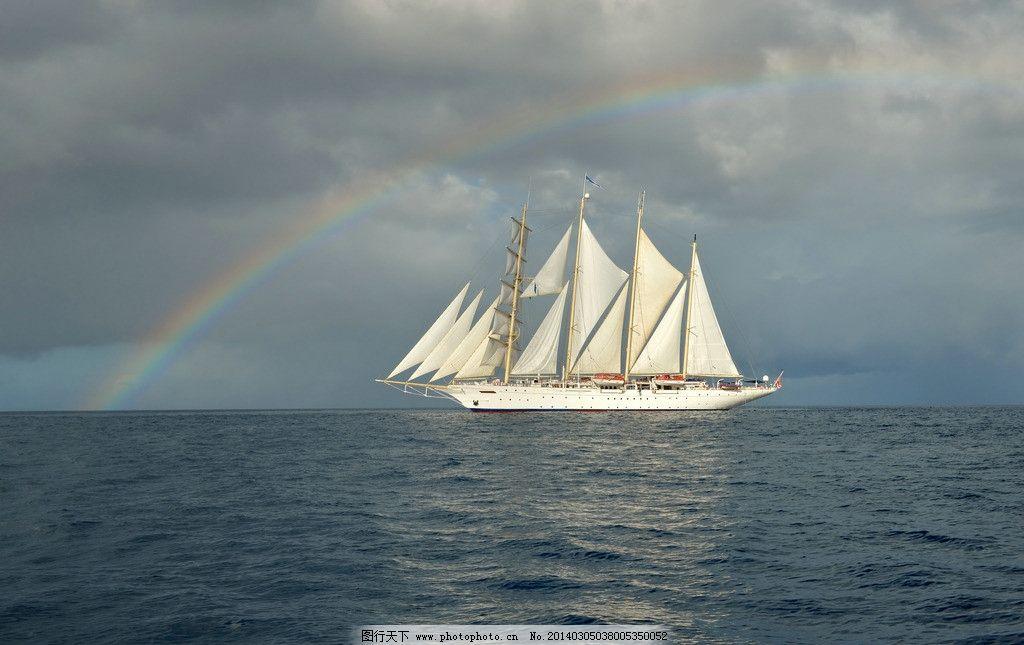 帆船 小船 大船 船只 风帆 航海 航行 远航 大海 海洋 渔船 古代船只