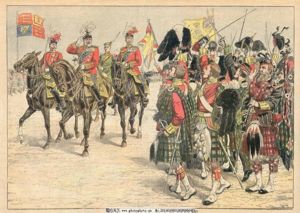 军人油画 油画 油画设计 人物 手绘 军人 欧洲贵族 绘画书法 文化艺术