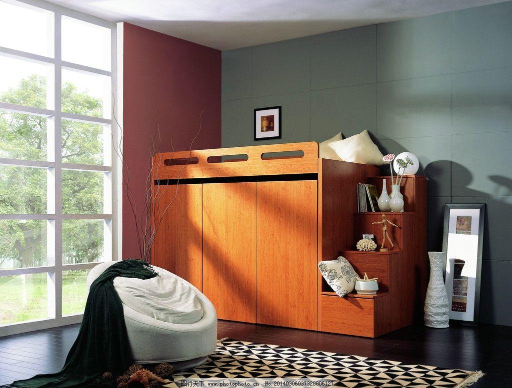 多功能家具_家居生活 定制功能床 多功能家具 时尚简约家具 摄影设计 功能衣柜