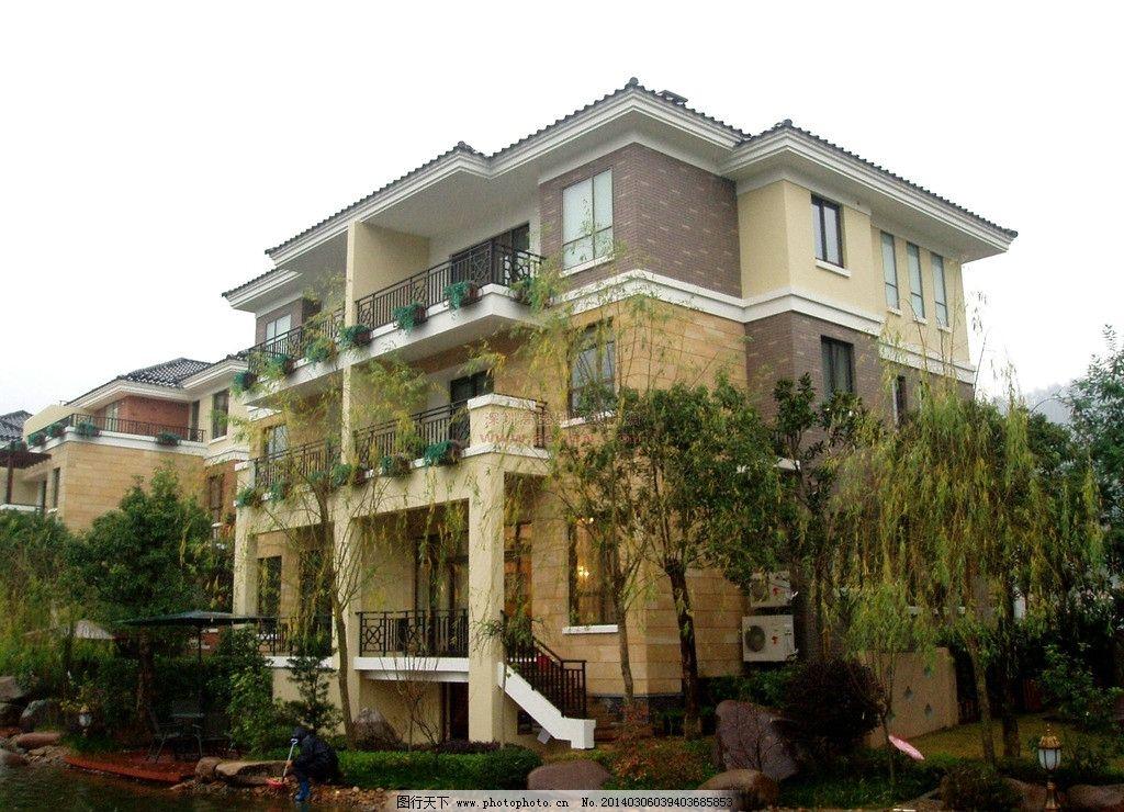 联排别墅 农村 房屋 设计 效果    建筑摄影 建筑园林 摄影 72dpi jpg