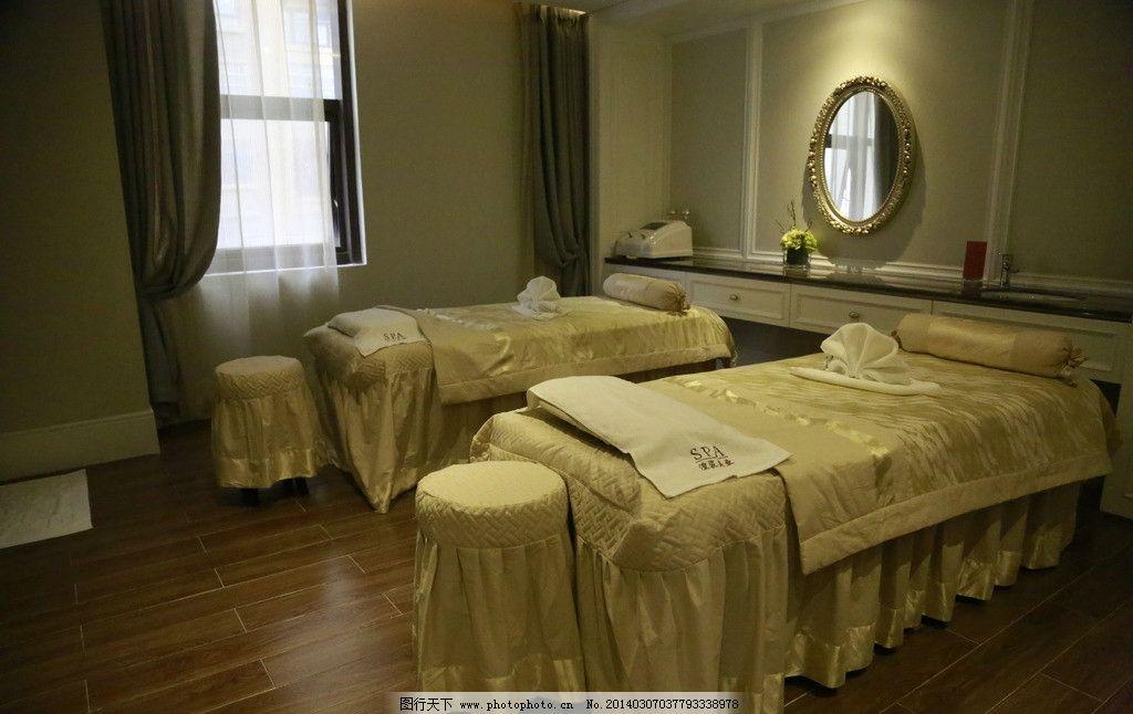 美容床 美容院 美容 精装美容院