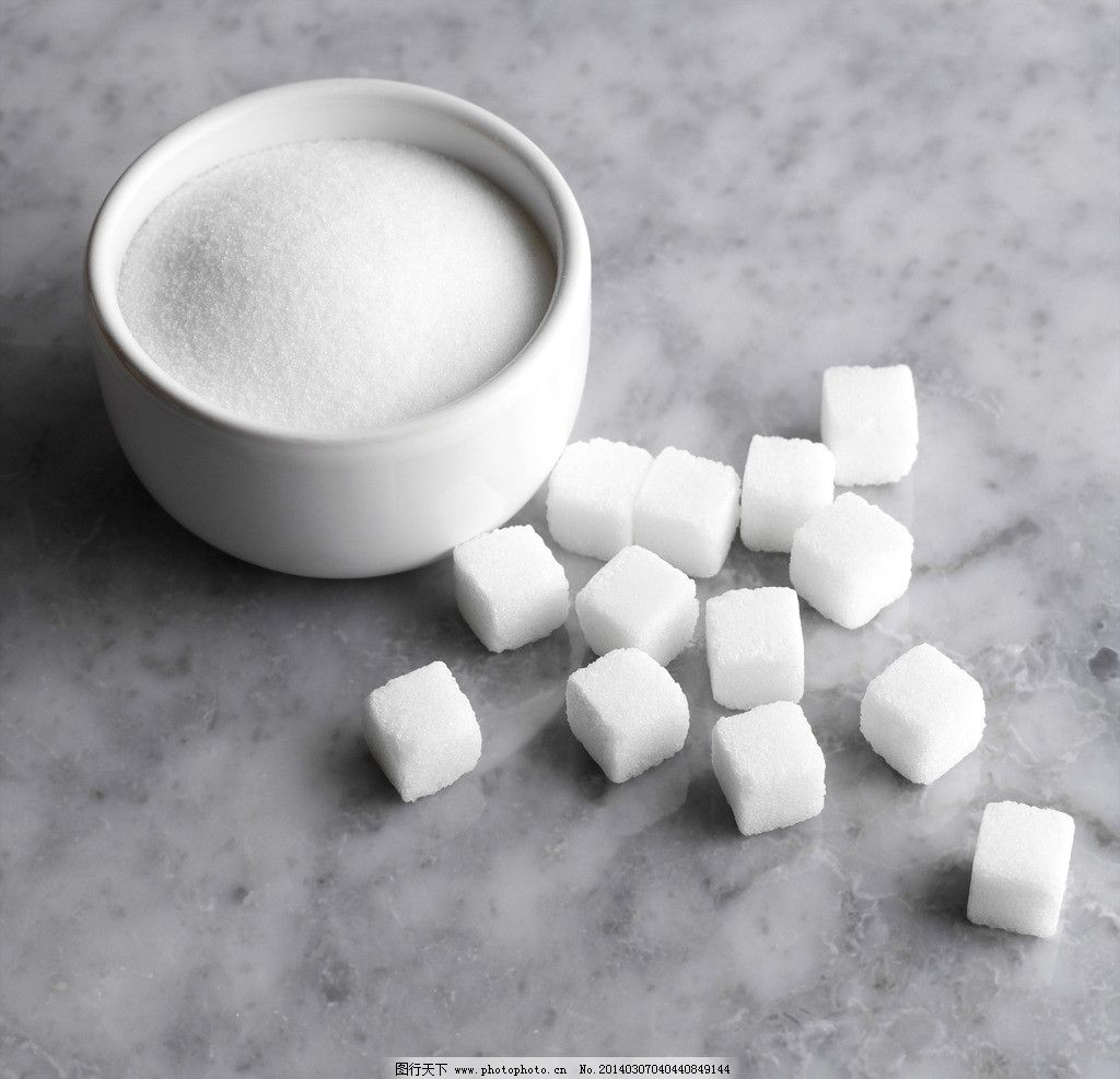 白砂糖图片