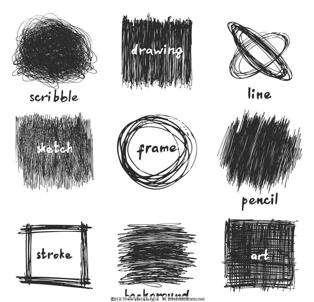 手绘线条图片
