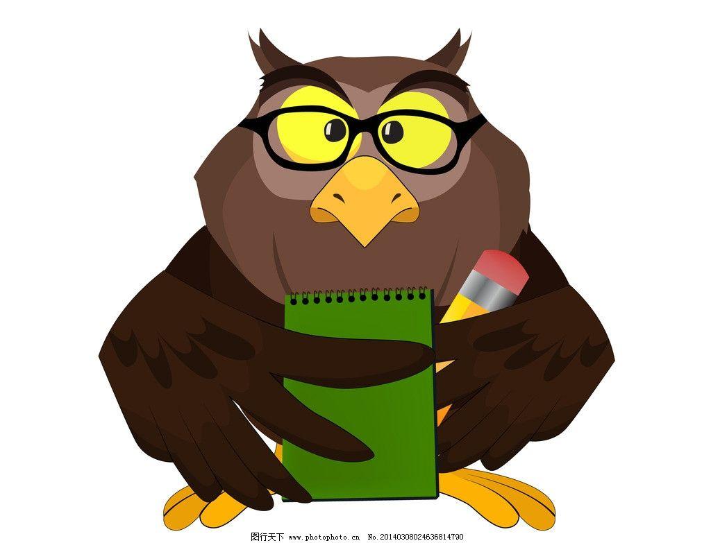 卡通鸟 卡通可爱的鸟 手绘 卡通 鸟 矢量 小鸟 鸟类 生物世界 eps