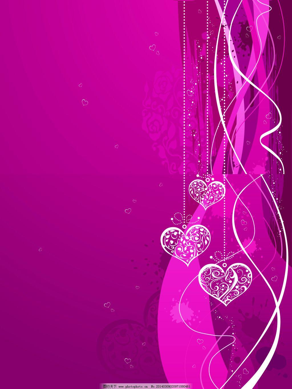 背景免费下载 背景 美丽 心型 紫色 紫色 心型 美丽 背景 图片素材