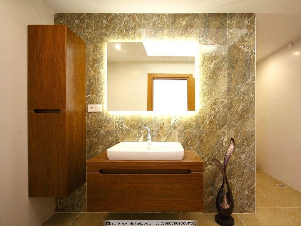 洗手间 洗手 水龙头 水池 镜子 室内摄影 室内高清图片 建筑园林 摄影