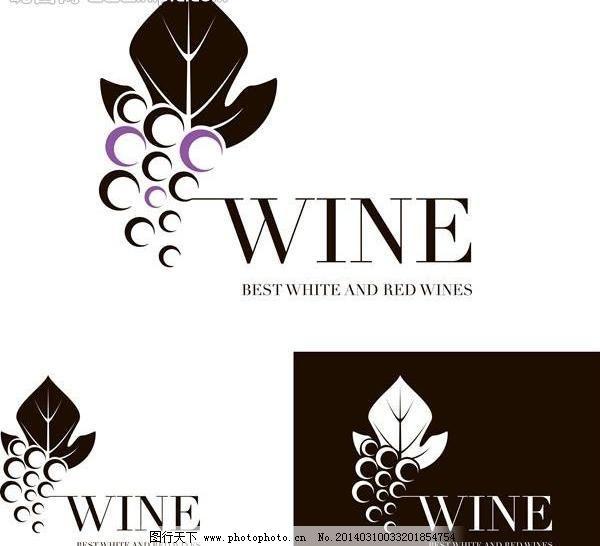 红酒图标 葡萄酒图片_广告设计_psd分层_图行天下图库