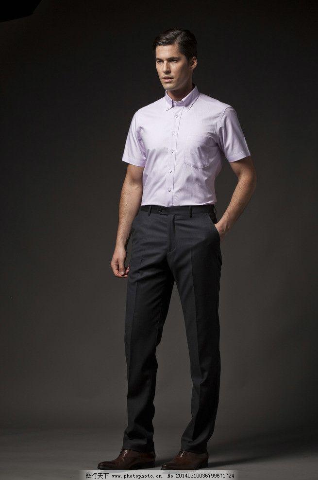 商务男士 男装模特