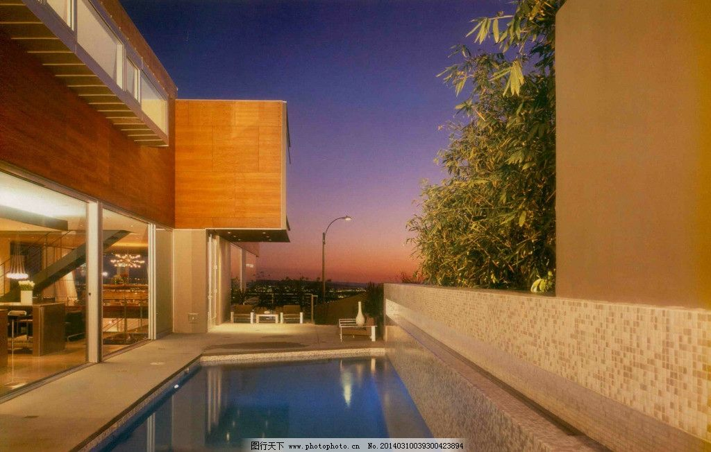 室内设计别墅游泳池 实景 照片 室内实景图 室内摄影 建筑园林