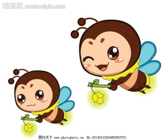 卡通萤火虫 卡通 动漫 萤火虫 昆虫 可爱 灯笼 蜜蜂 生物世界 矢量 ai