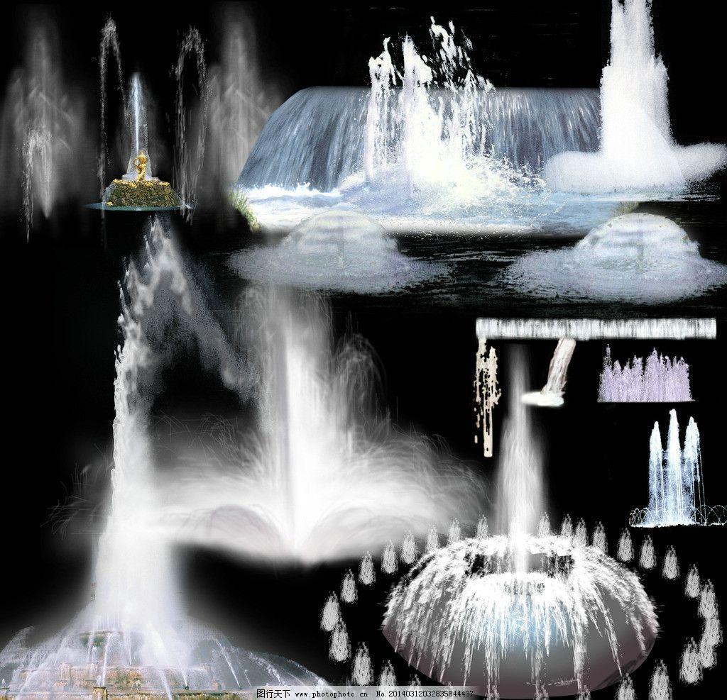 小喷泉怎么画简笔画