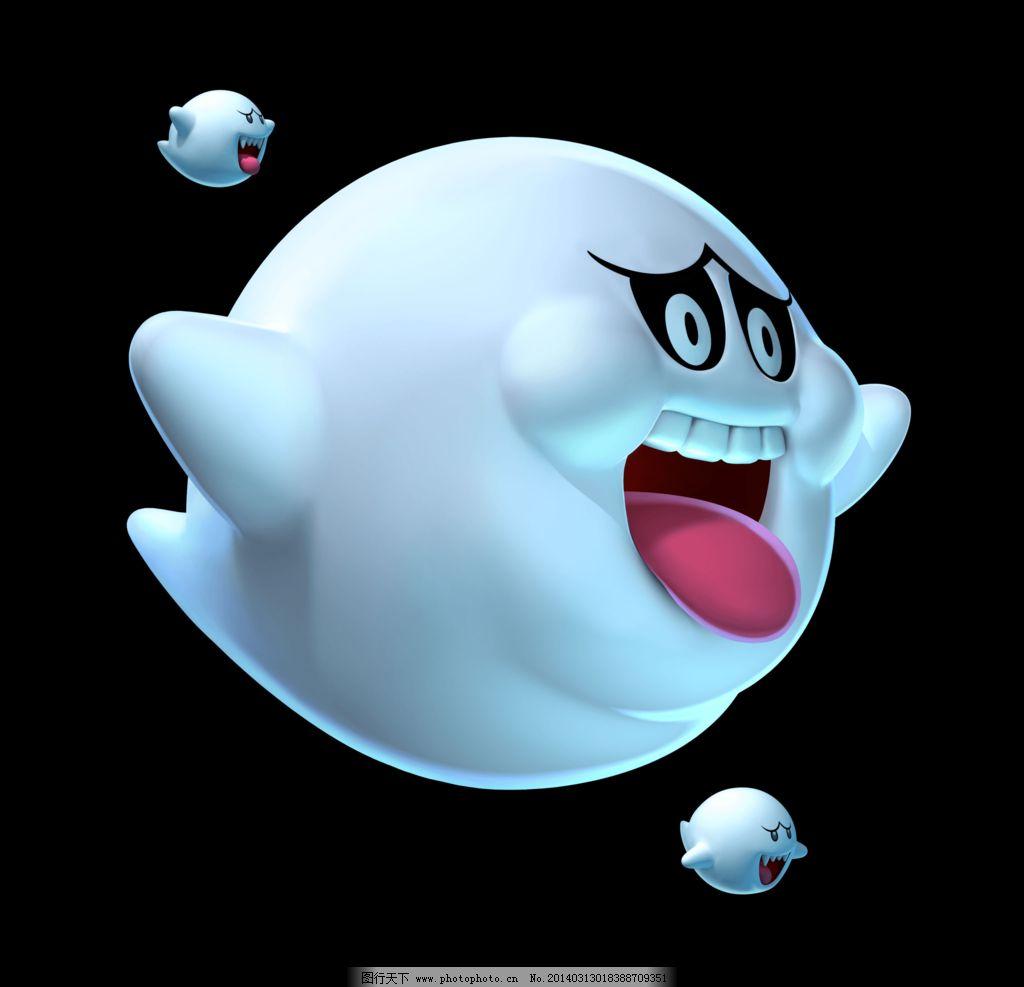 大鬼 游戏卡通角色 3d卡通角色 游戏角色 卡通素材 鬼面 幽灵 动漫