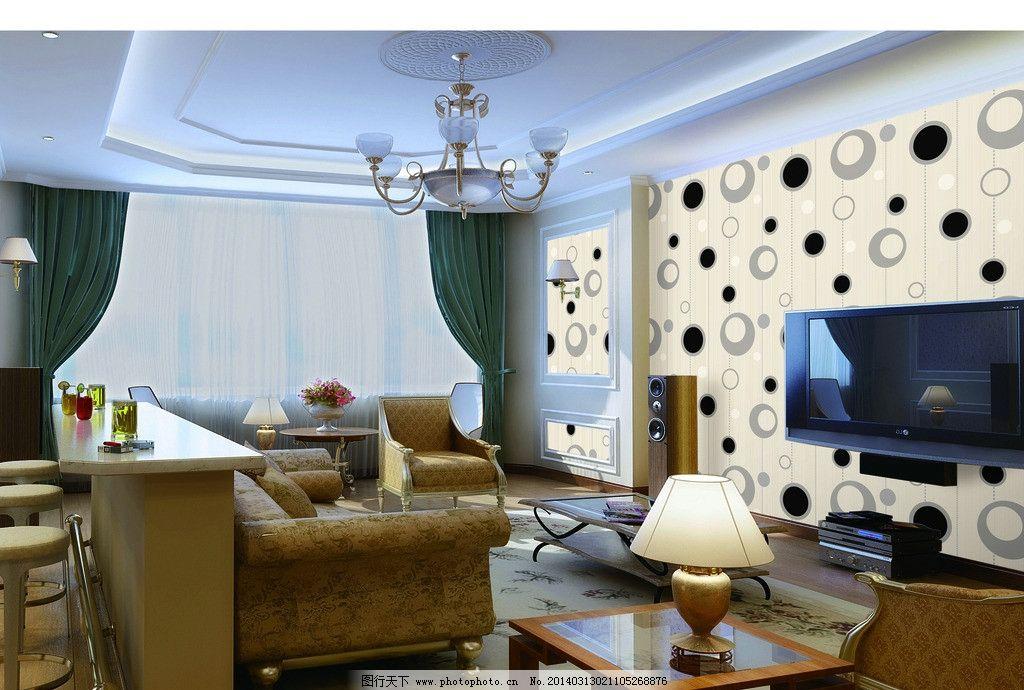 电视背景墙 室内装饰 电视 背景墙 空间大 美观 大方 3d设计 设计 200