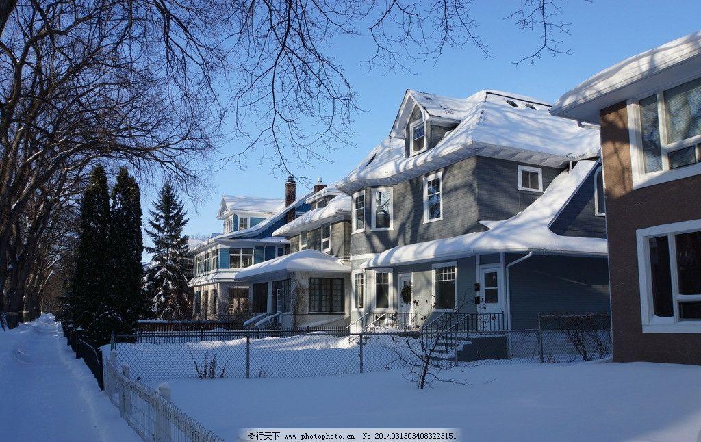 加拿大别墅 加拿大的冬天