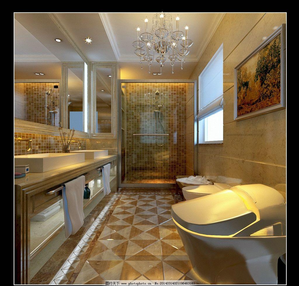 欧式卫生间设计图片