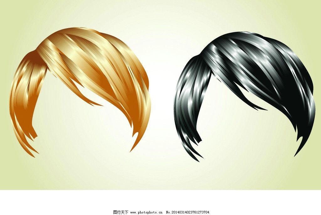 短发 时尚美女发型秀发