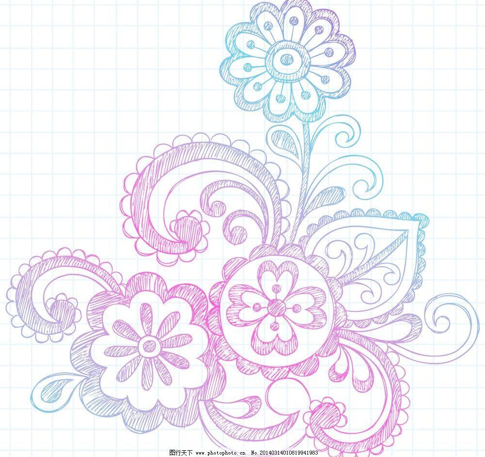 花纹 精美花纹 线条 植物花纹 抽象花卉 豪华背景 欧式花纹 复古 欧式