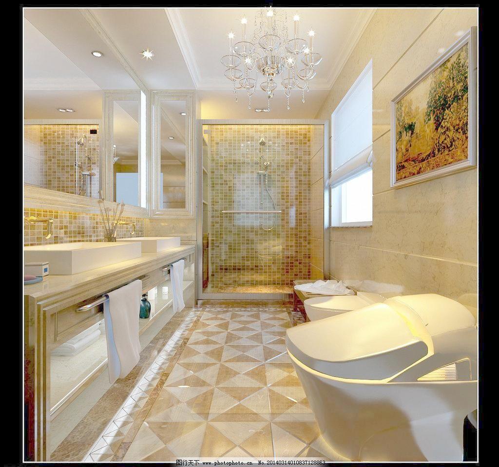欧式卫生间设计图片_其他