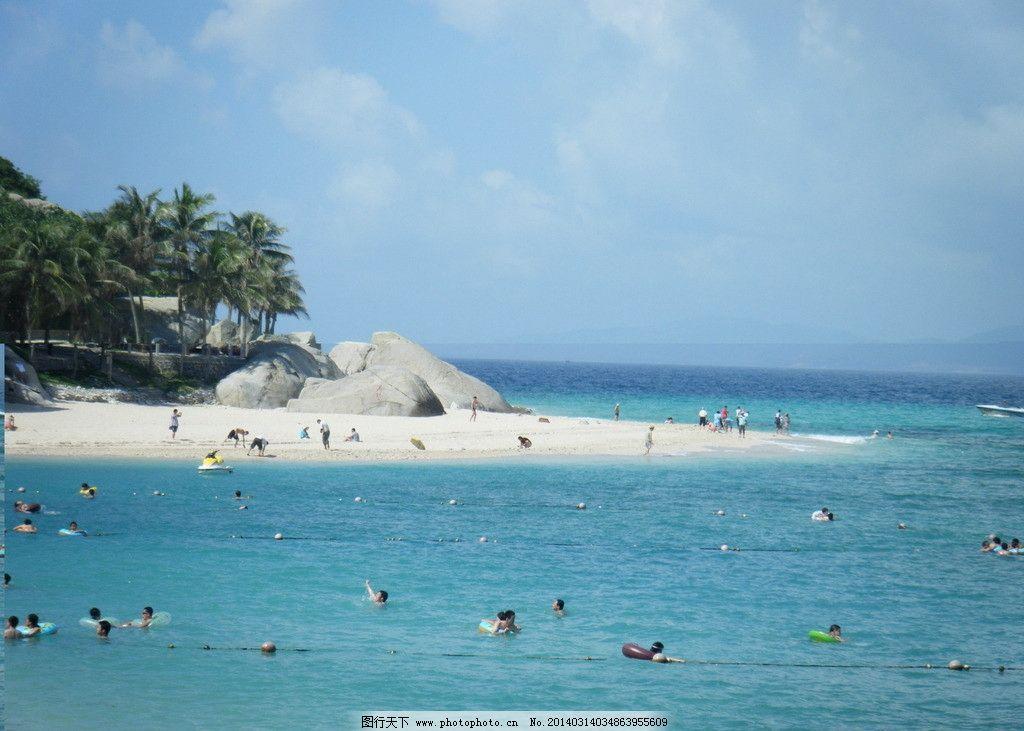 大海风景 大海 自然风景 沙滩 海滩 椰树 自然景观 摄影 72dpi jpg