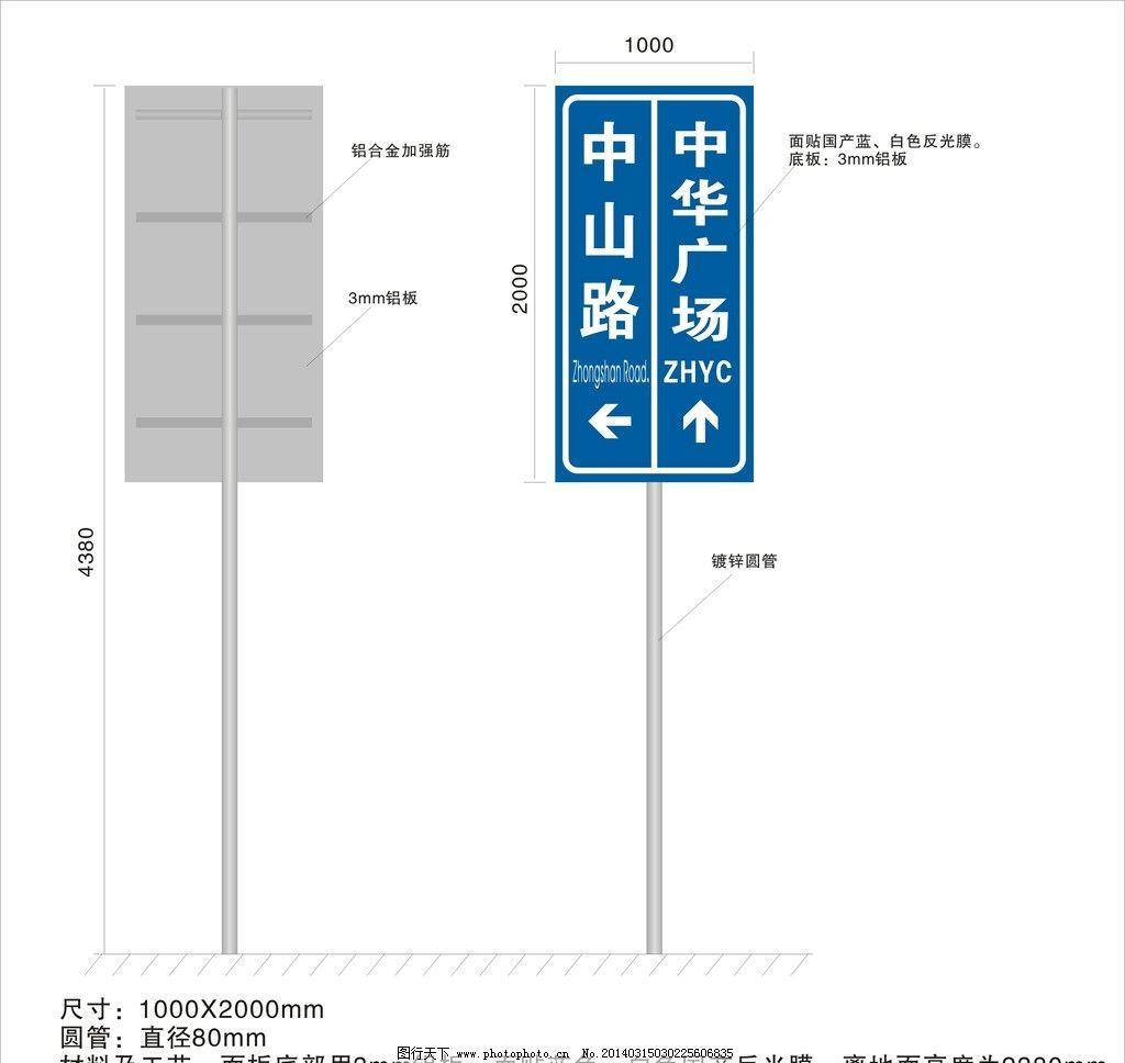 路牌 路牌矢量素材 路牌模板下载 广告牌 指示牌 标牌 展板模板 广告图片