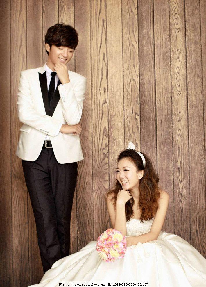 婚纱照 婚纱 美女 甜蜜 可爱 韩式 人物摄影 人物图库 摄影 200dpi