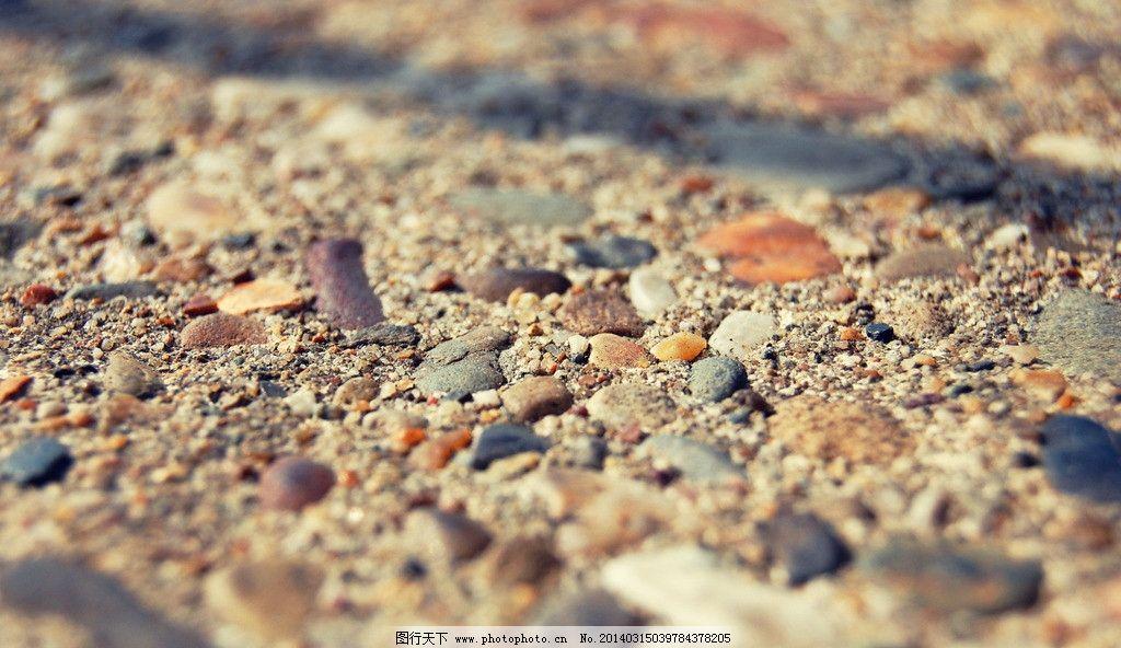 石子路 水泥地 鹅卵石 石头 石子 砂石 沙砾 石砾 地面 广场公路 其他