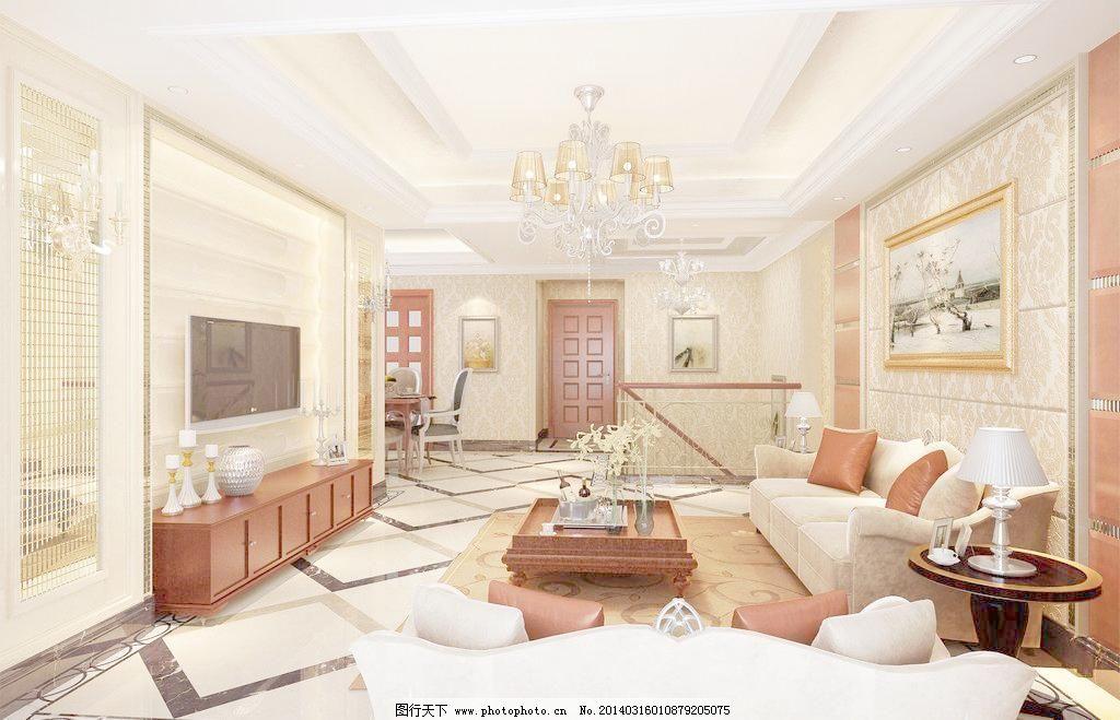 客厅设计 欧式客厅效果图 设计 室内设计 卧室 装潢 欧式客厅效果图