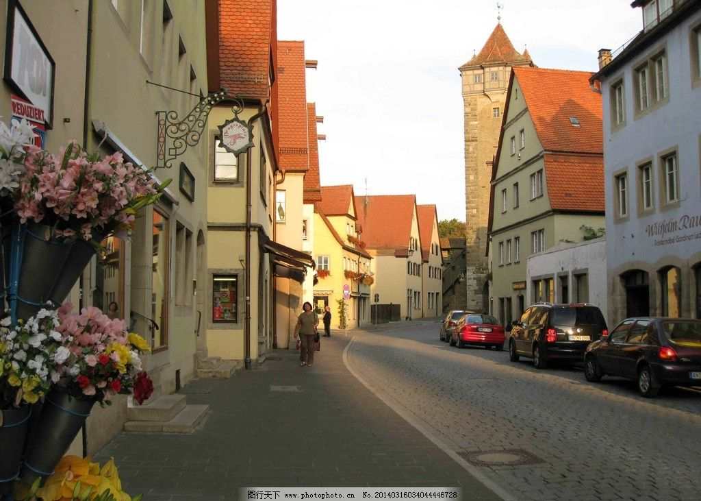罗滕堡 街景图片