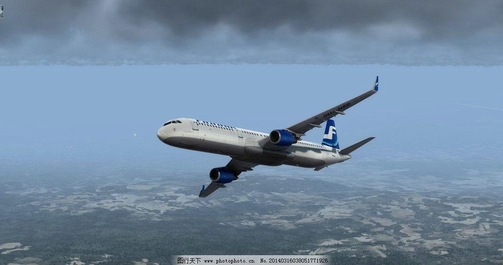 空客a320离场 空中客车 空客 320 a320 飞机 喷气式飞机 交通工具