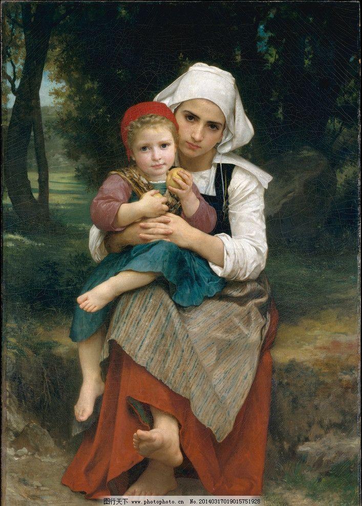 布格罗高清油画大图 古典 小孩 油画艺术