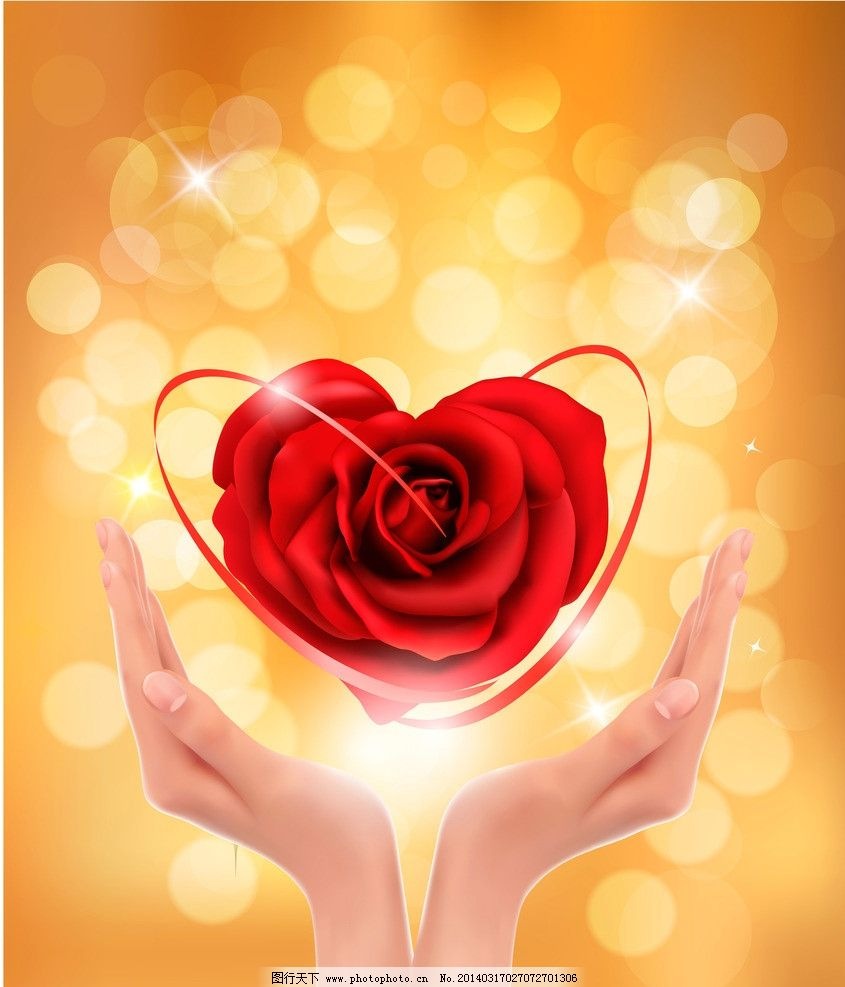 手拿玫瑰花图片,背景是蓝色的,有一只手拿着一支粉嫩的玫瑰花,图片