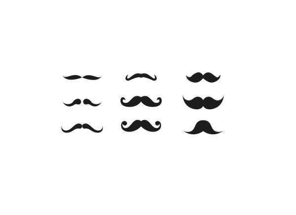 胡子 胡子免费下载 胡须 矢量素材 小胡子 纯碳 矢量图 其他矢量图