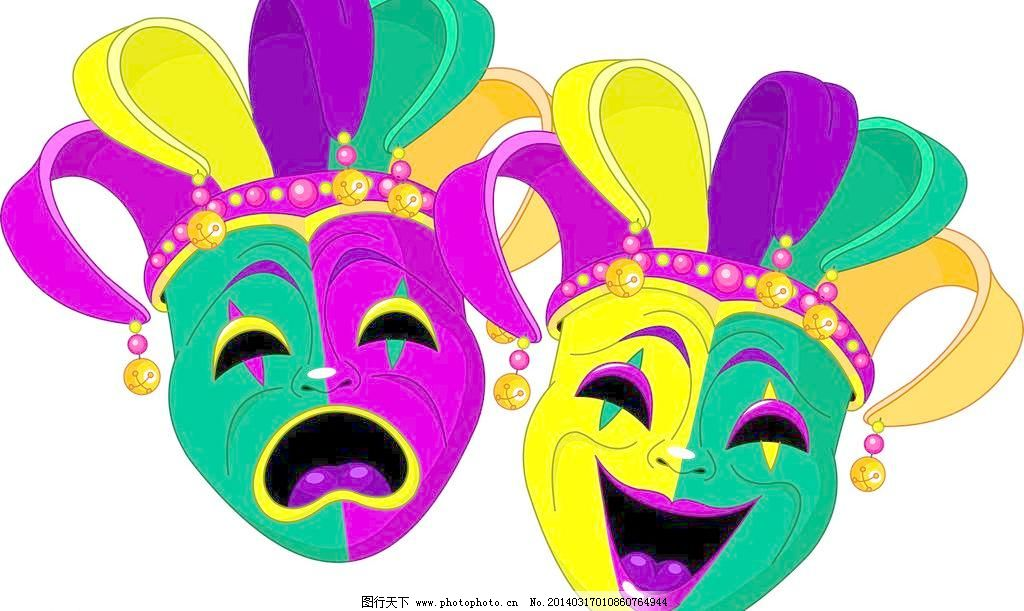 小丑脸谱简笔画步骤